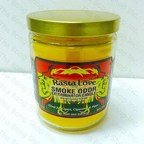 Rasta  Love Smoke Odor Exterminator Candle - Tha Bong Shop