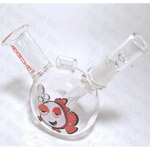 Aqua Glass Fish Pendant Rig - Tha Bong Shop