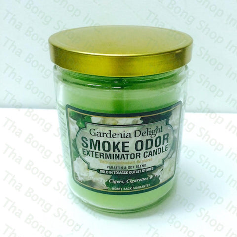 Gardena Delight  Smoke Odor Exterminator Candle  - Tha Bong Shop