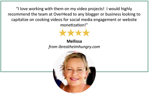 recipe video production testimonial