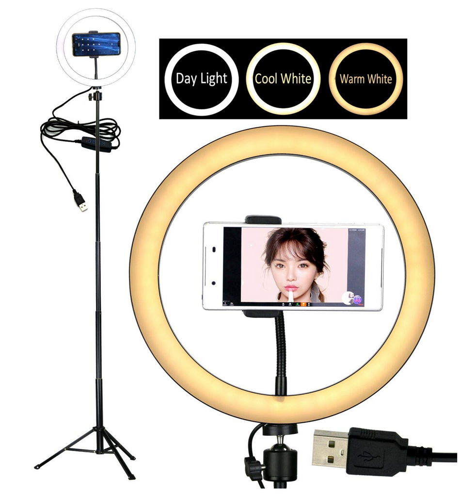 Ring Light with Smartphone Holder