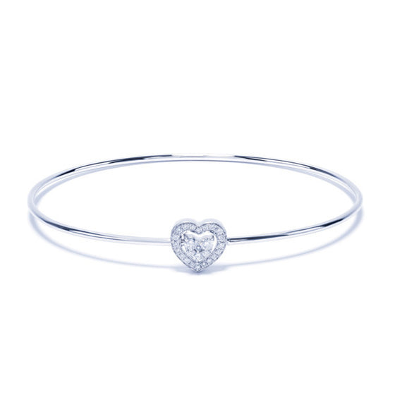 Unlock Me Bangle Heart