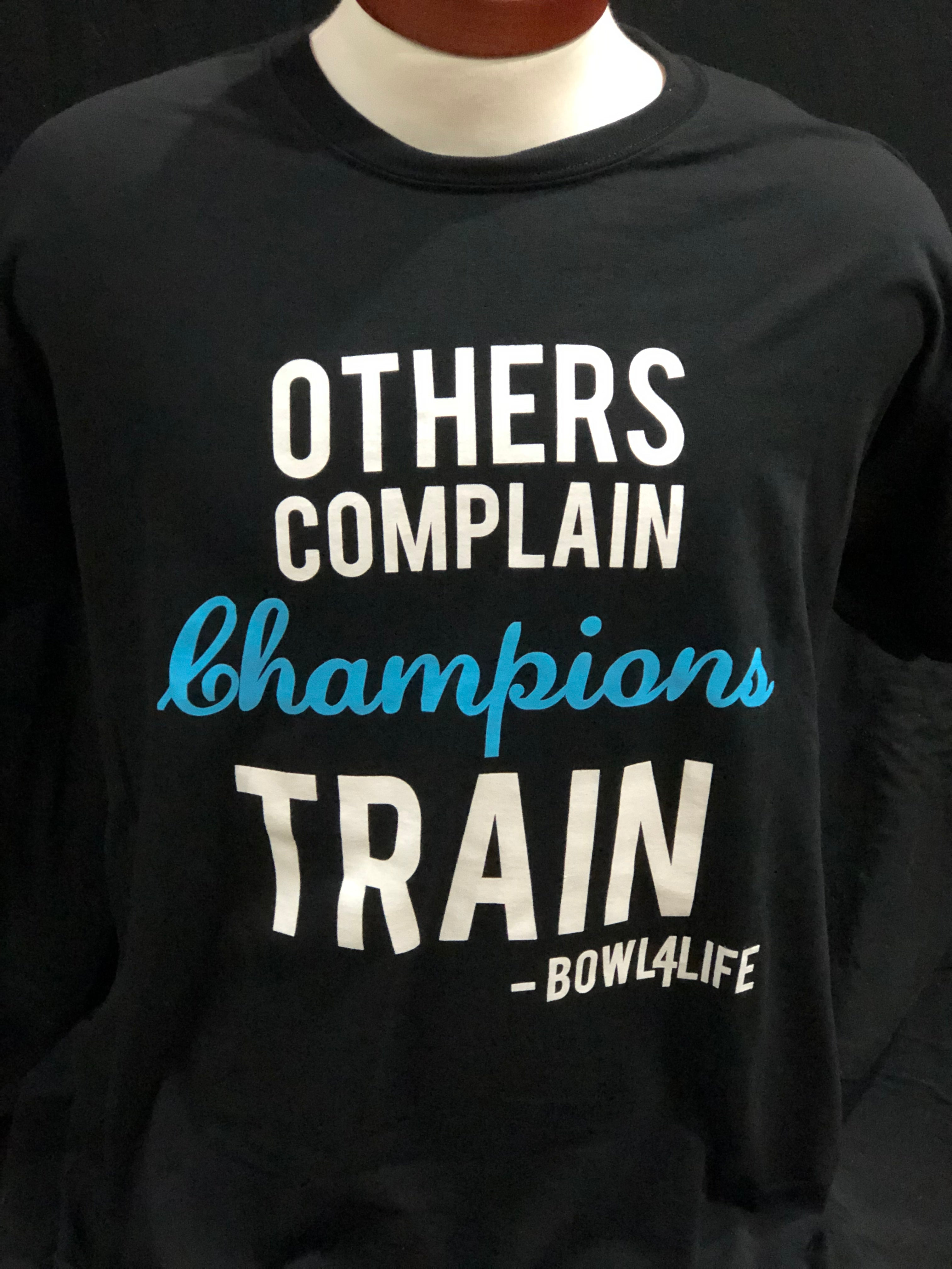 Champions Train Tshirt