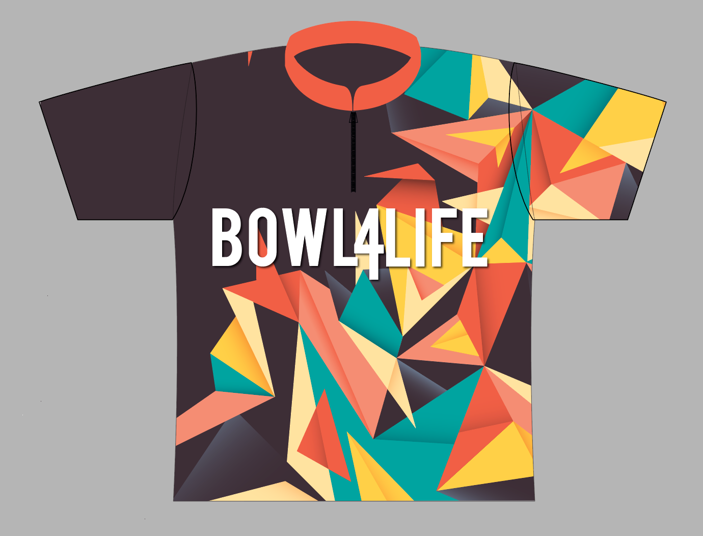 Bowl4Life Triangle Jersey