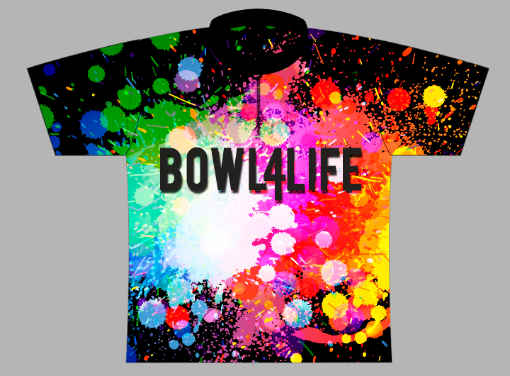 Bowl4Life Paint Splatter Jersey