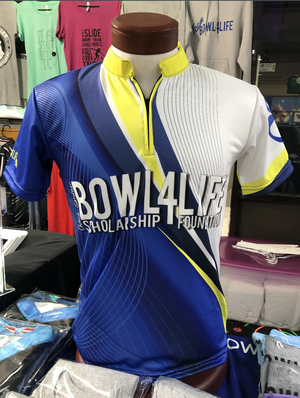 Bowl4Life Blue & Yellow Jersey