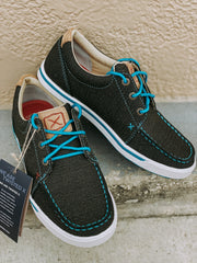 Twisted X Brown/Turquoise Casual Loafer