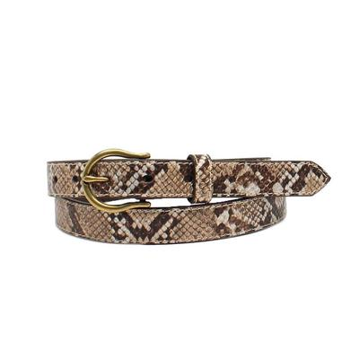 Ariat Metallic Snake Belt