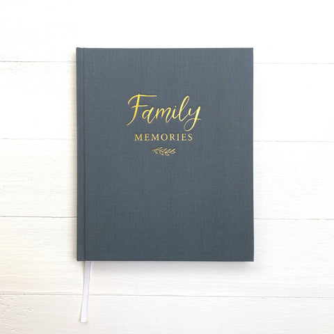 Family Memories Linen Journal