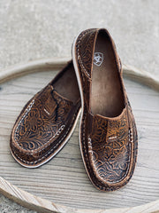 Ariat WMS Cruiser Brown Floral Embossed