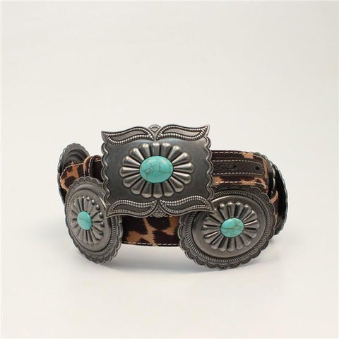 Ariat Concho Leopard Belt