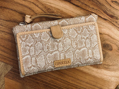 Consuela Slim Wallet Clay
