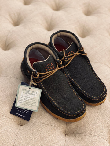Women's Charcoal Chukka Driving Moc