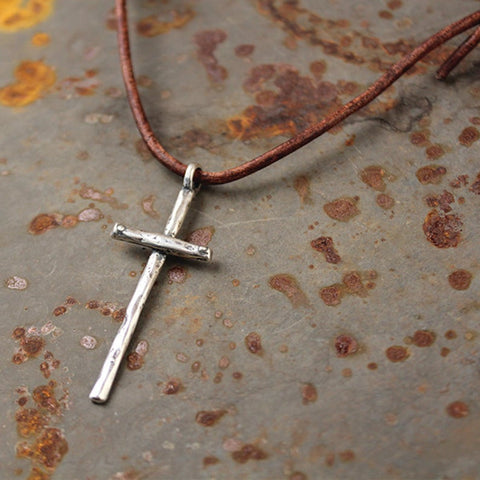 Take Up Your Cross Necklace