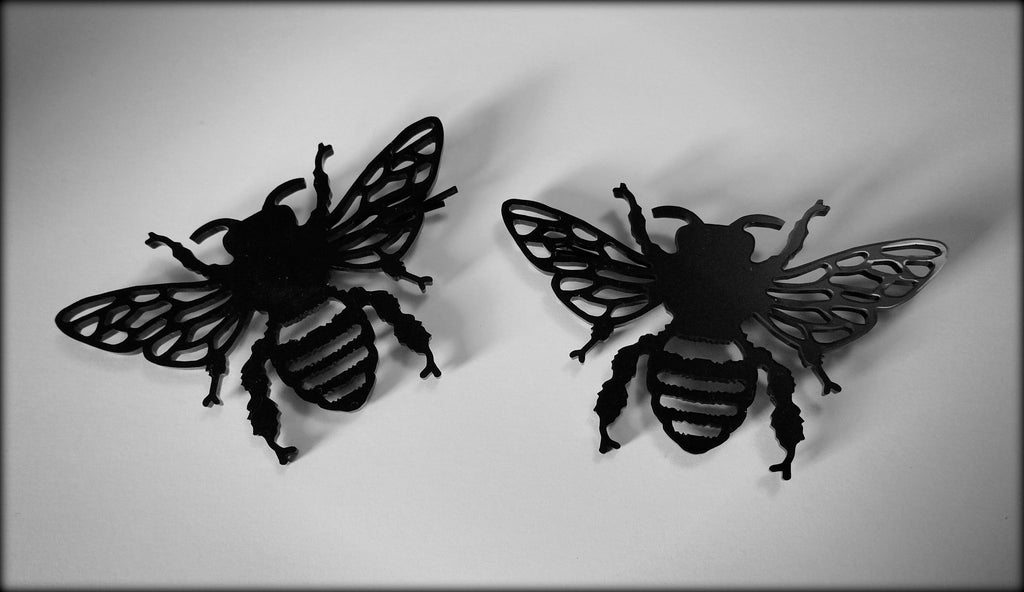 Queen Bee Hair Clips