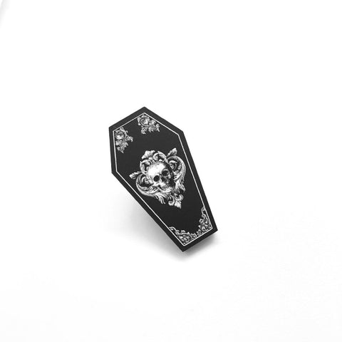 Down with my Demons Tarot Enamel Pin