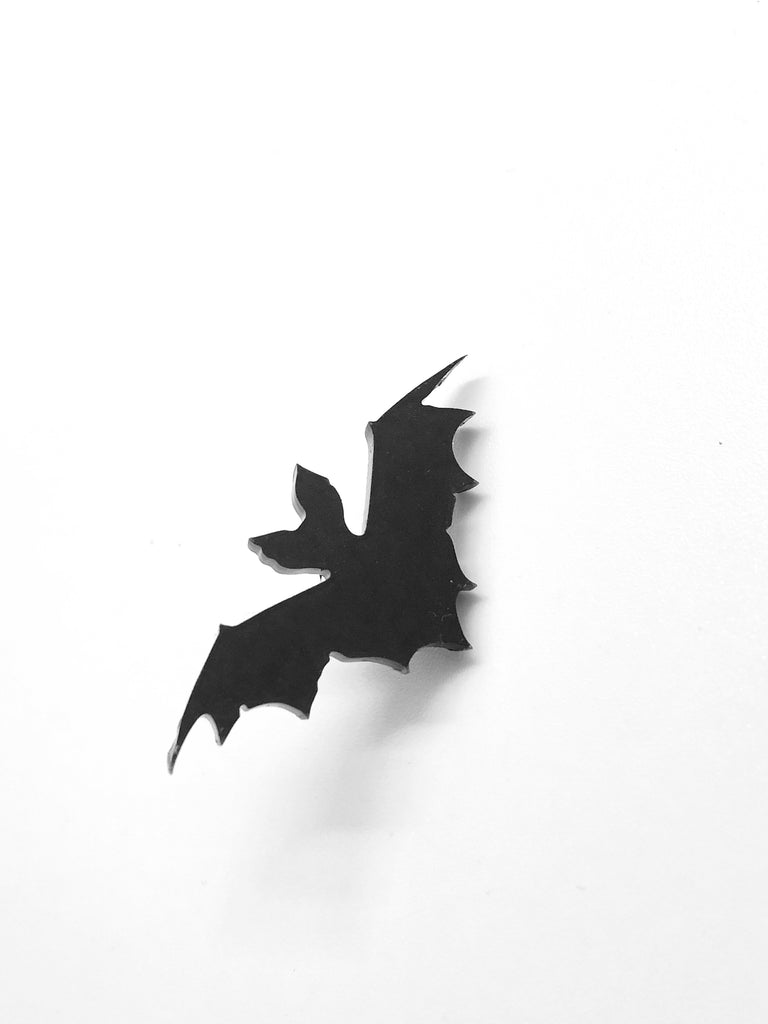 Black Bat Pin Badge