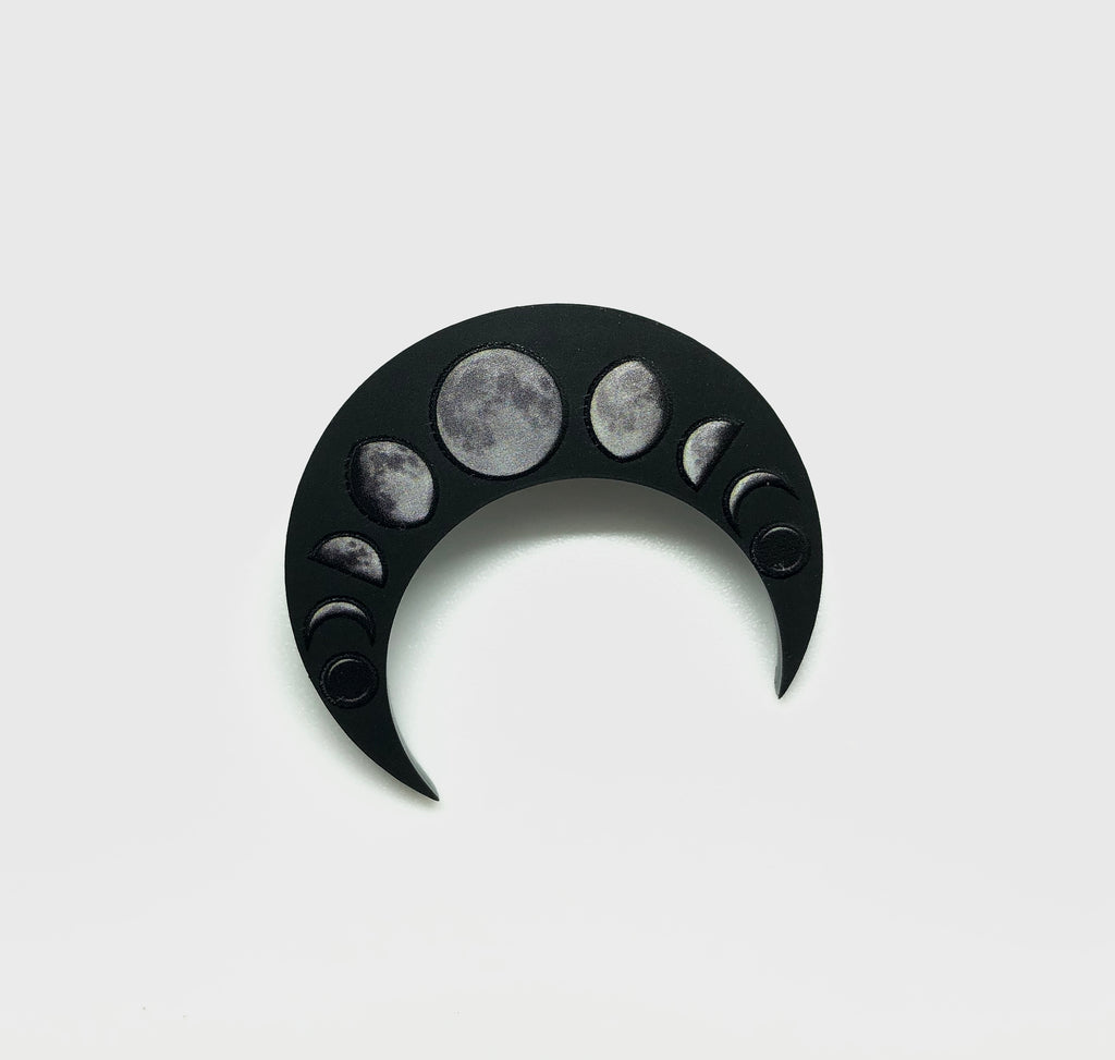 Lunar Phases Pin Badge