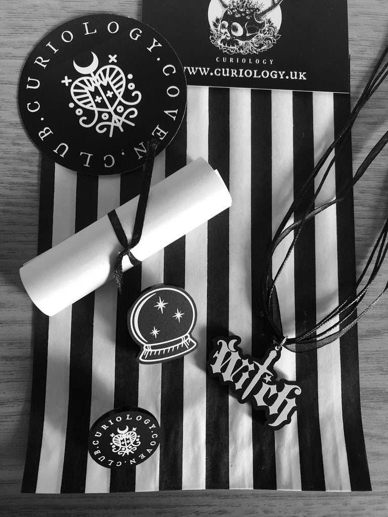 CURIOLOGY COVEN CLUB SUBSCRIPTION - BACK IN SEPTEMBER!