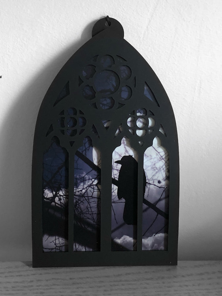Moon Song Layered Window/Wall Art