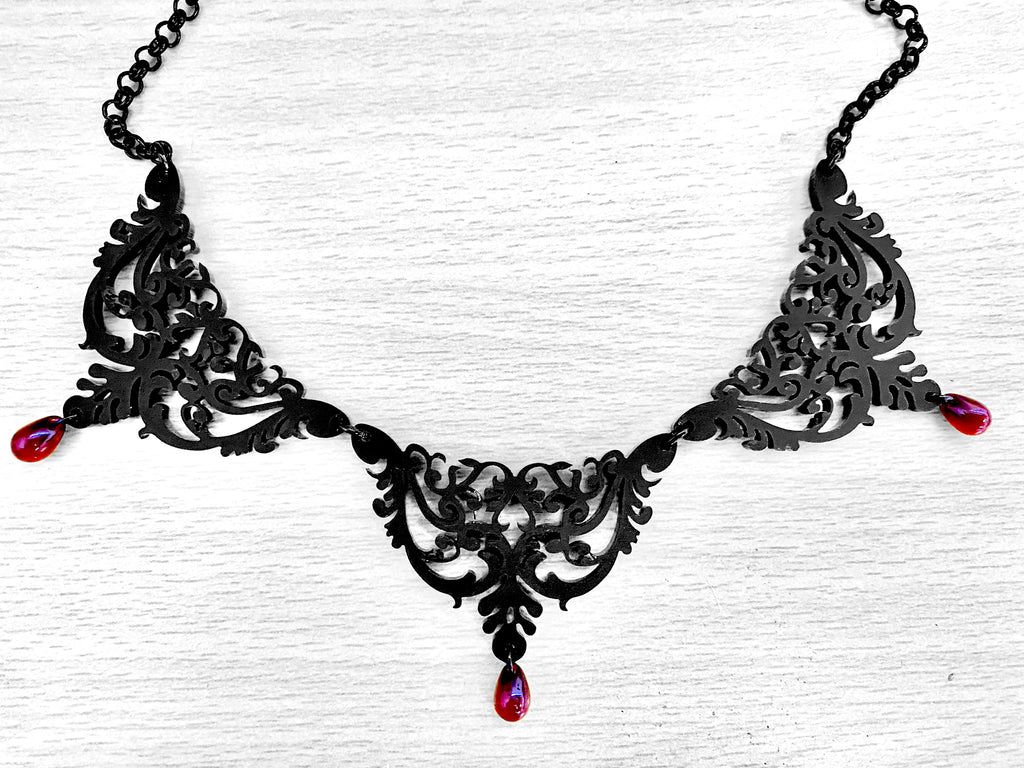 Ornate Choker Statement Necklace