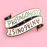 Jubly-Umph Protagonist/Antagonist Enamel Pin