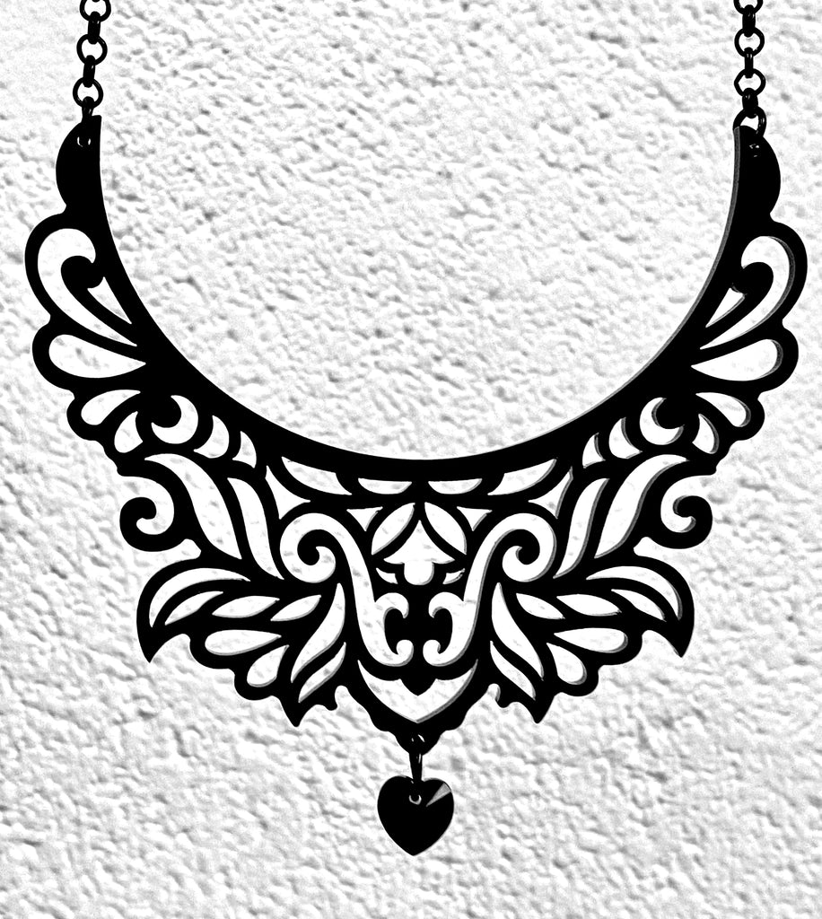 Ornate Collar Statement Necklace