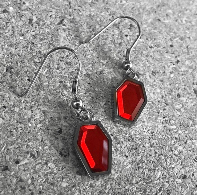 Blood Crypt Earrings