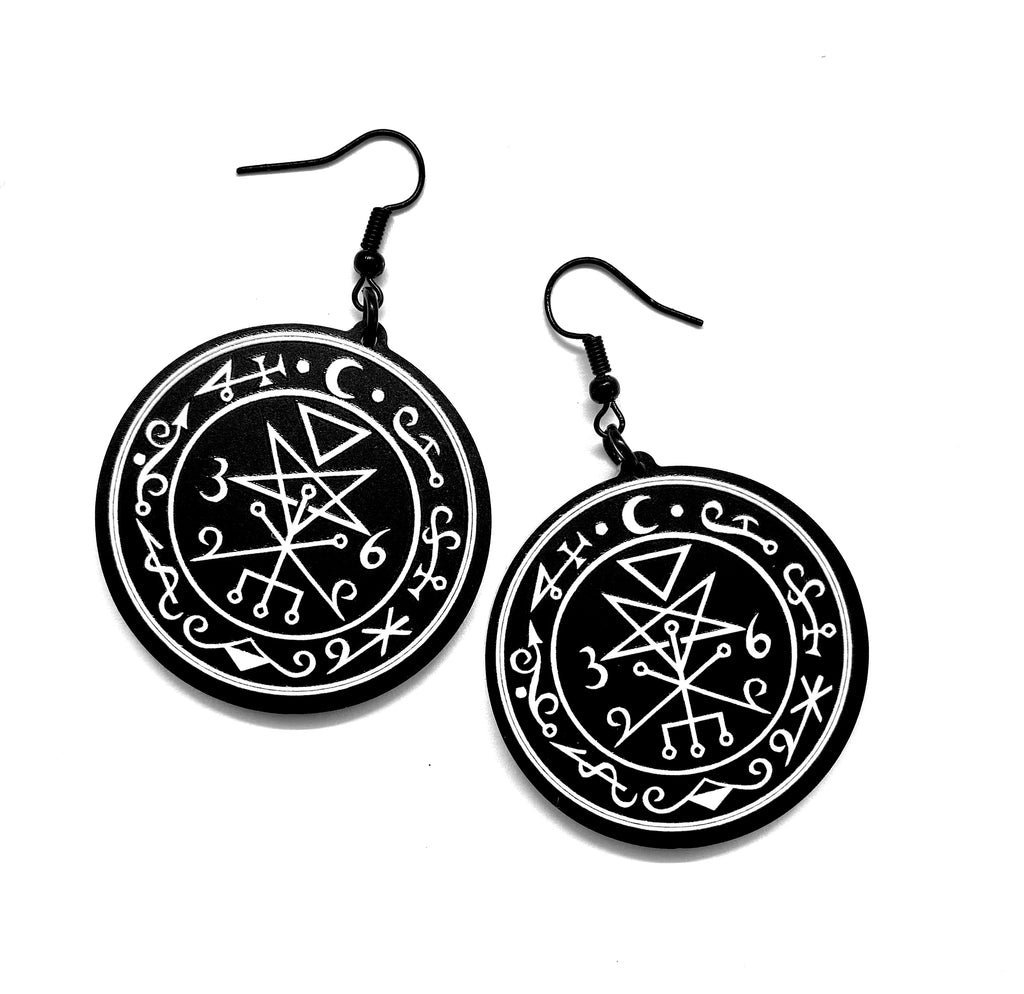 Seal of Lilith Earrings