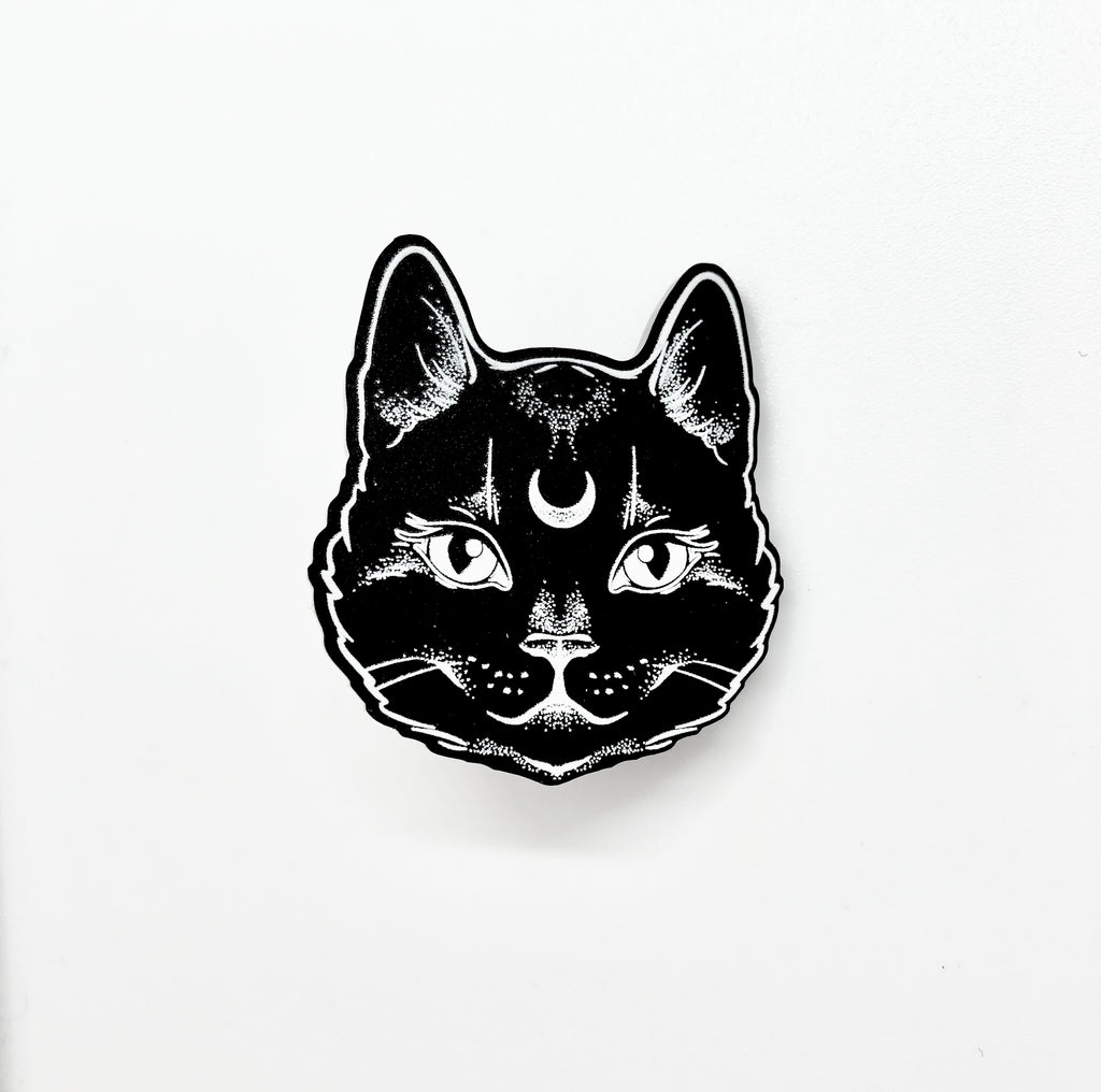 Witches Cat Pin Badge