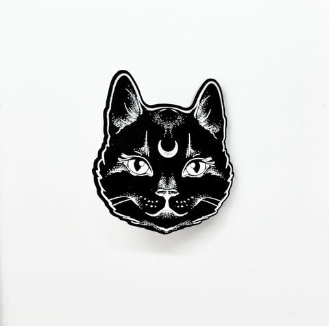 Book Lover - Cat Enamel Pin