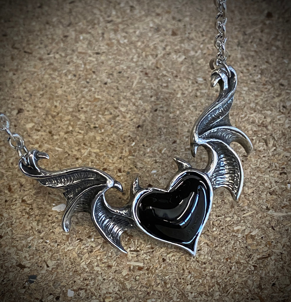 Blacksoul Heart Necklace