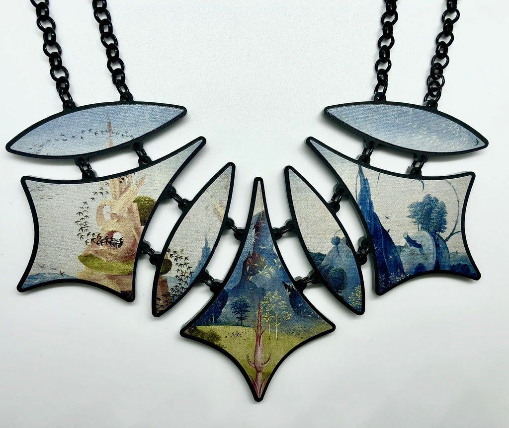 Hieronymus Bosch Garden of Earthly Delights Triptych Necklaces.