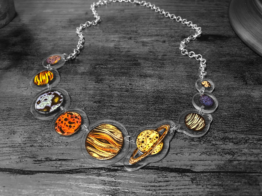 Planetary Necklace