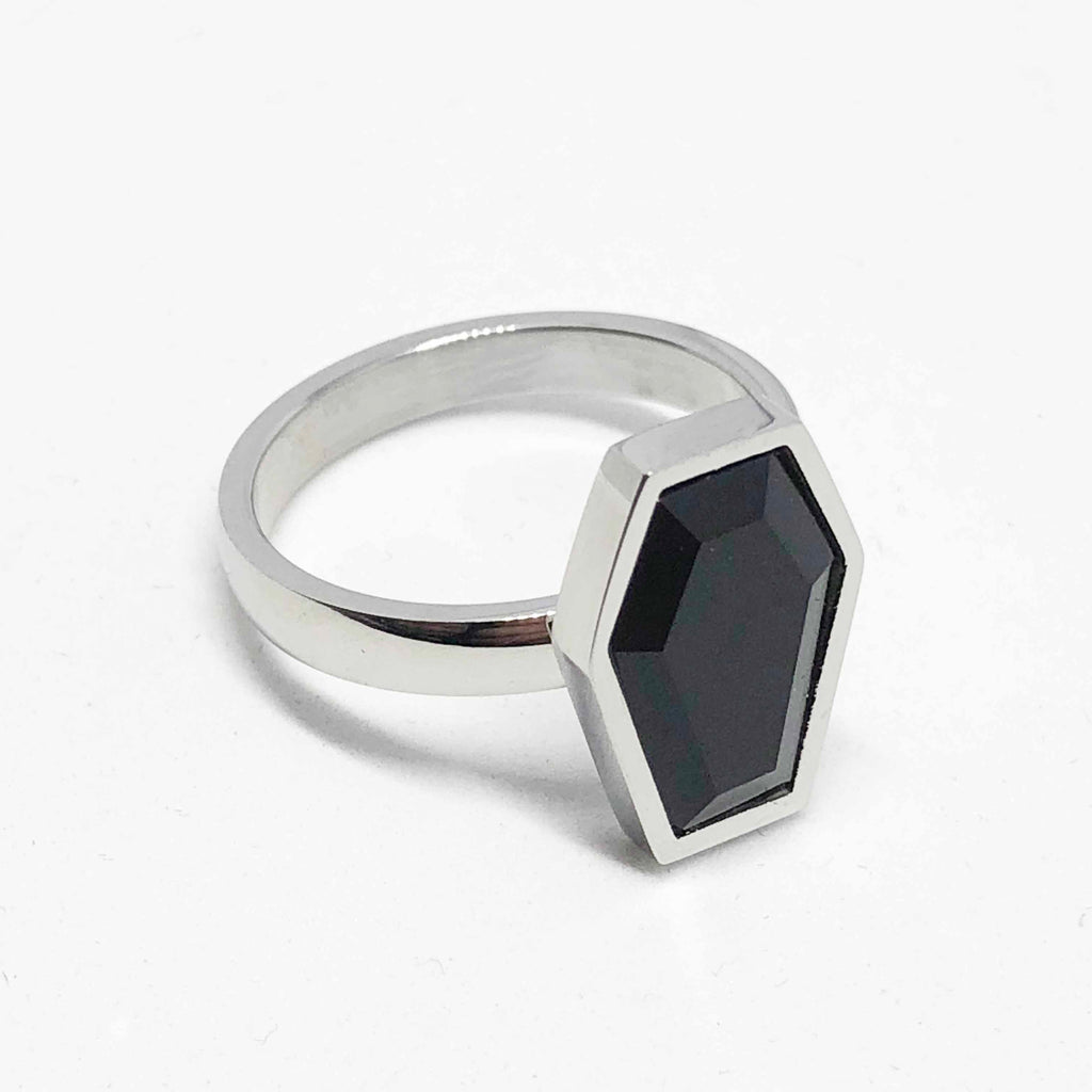 Onyx Crypt Ring