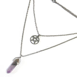 Mysticum Luna Pentacle Layer Necklace