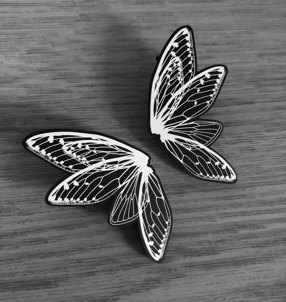 Fairy Wing Hair Clips