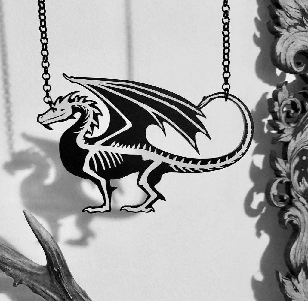 Dragon Skeleton Necklace