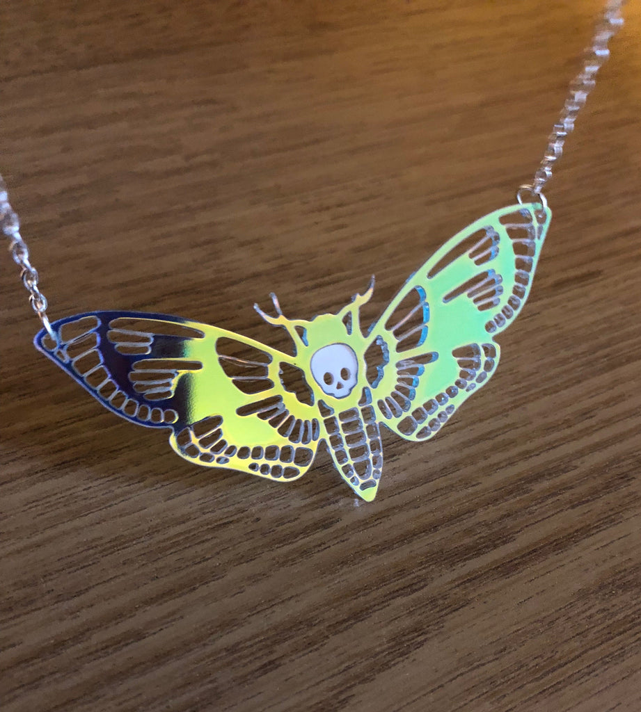 Deaths Head Moth Necklace v 2.0