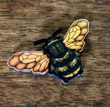 Beautiful Bee Pin Badge