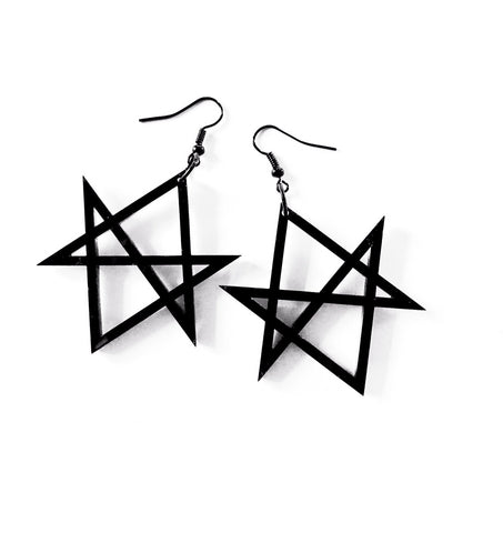Hand Of Macbeth Ear Dropper Earrings