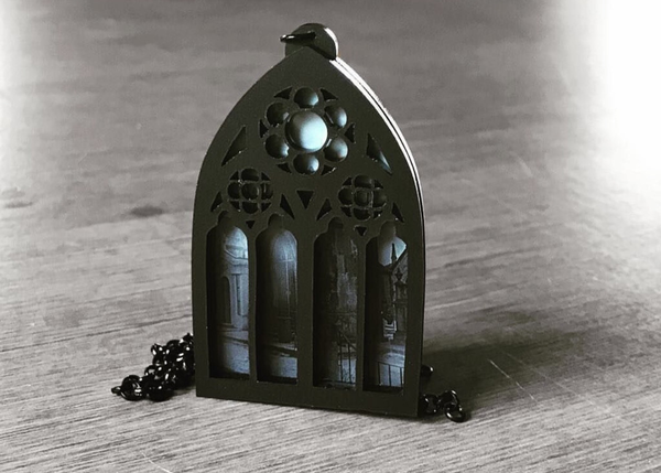 Tomb with a View Layered Necklace