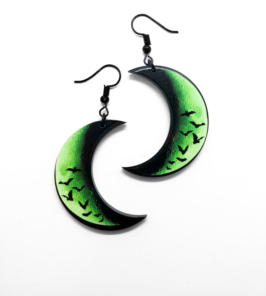 The Dead Moon Earrings