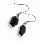 Onyx Crypt Earrings