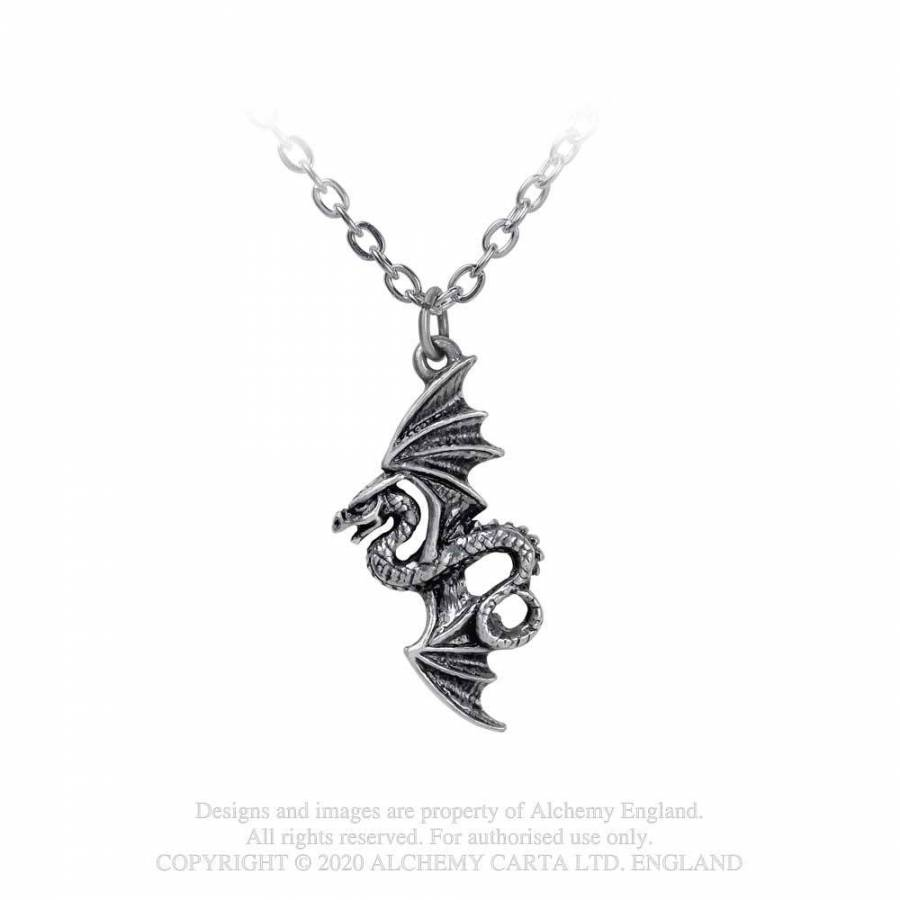Alchemy Gothic Flight of Airus Necklace