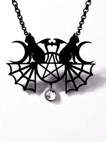 Tarot Necklace - Colour/Black and White
