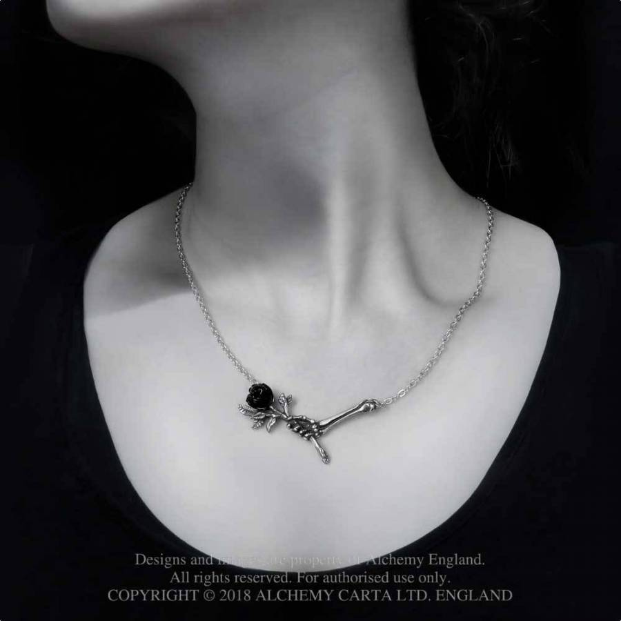 Alchemy Gothic Love Never Dies Necklace