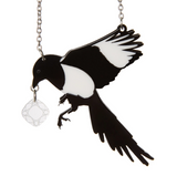 Magpie & Diamond Necklace