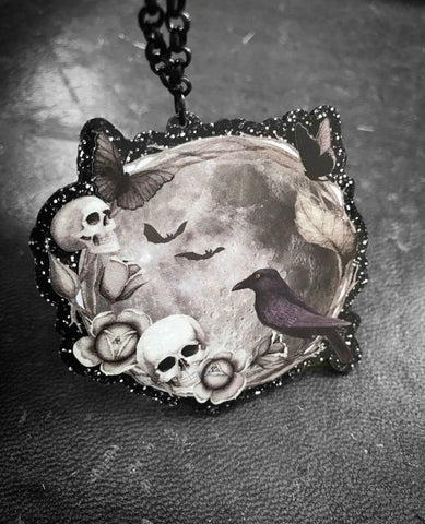 Ouija Cameo Necklace