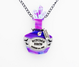 Witches Brew Potion Bottle Necklace
